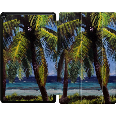 Amazon Fire HD 10 (2018) Tablet Smart Case - Palms von Kaitlyn Parker