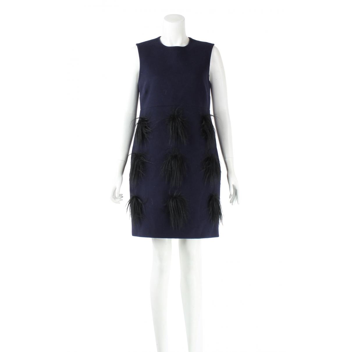 Stella Mccartney - Robe   pour femme en laine - marine