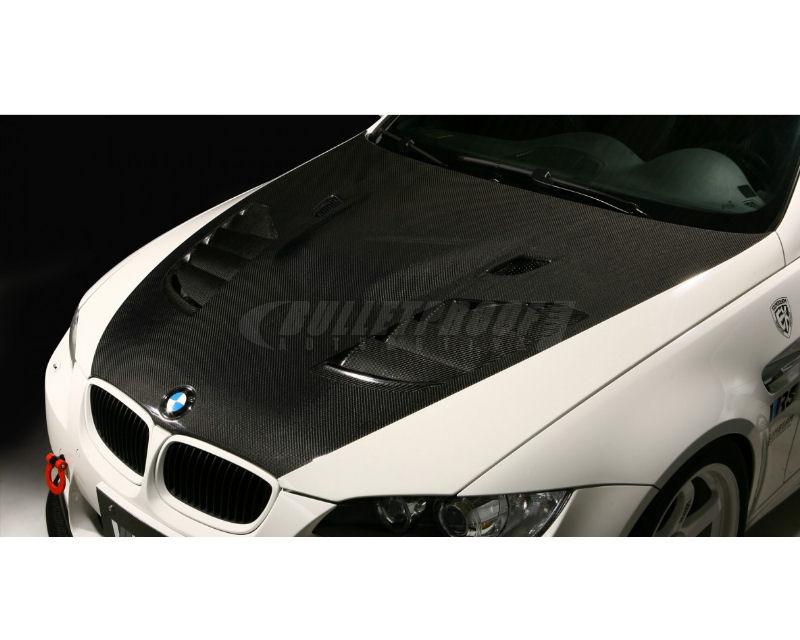 Varis VBB-9204 Carbon Fiber Vented Cooling Hood BMW E92 M3 08-13