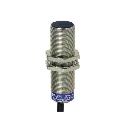 Telemecanique Sensors M18 x 1 Inductive Proximity Sensor - Barrel, NO Output, 8 mm Detection, IP68, Cable Terminal