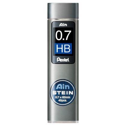 Pentel Ain Stein Tube Mechanical Pencil Leads - HB, 0.7mm 242107