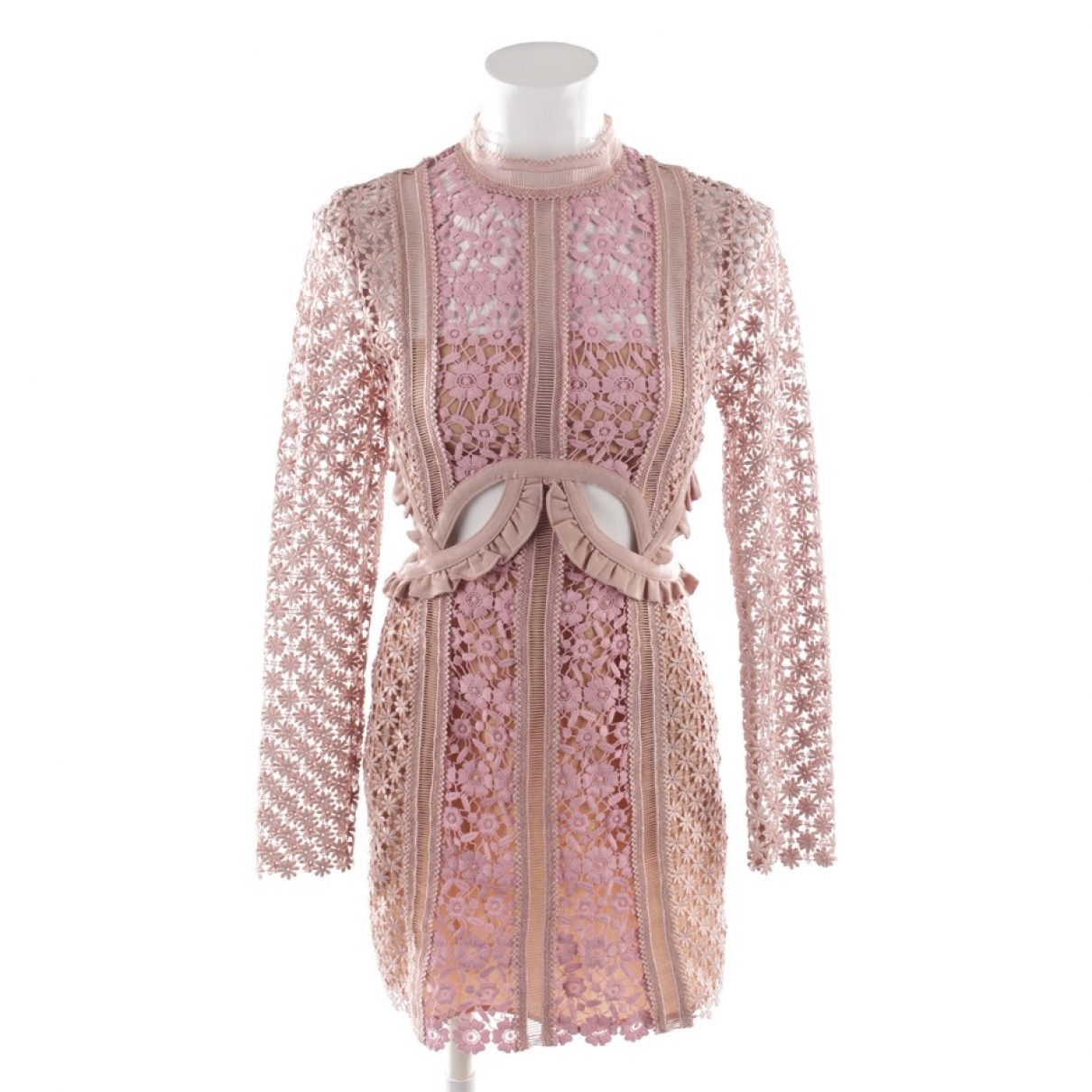 Self Portrait \N Pink Lace dress for Women 34 FR