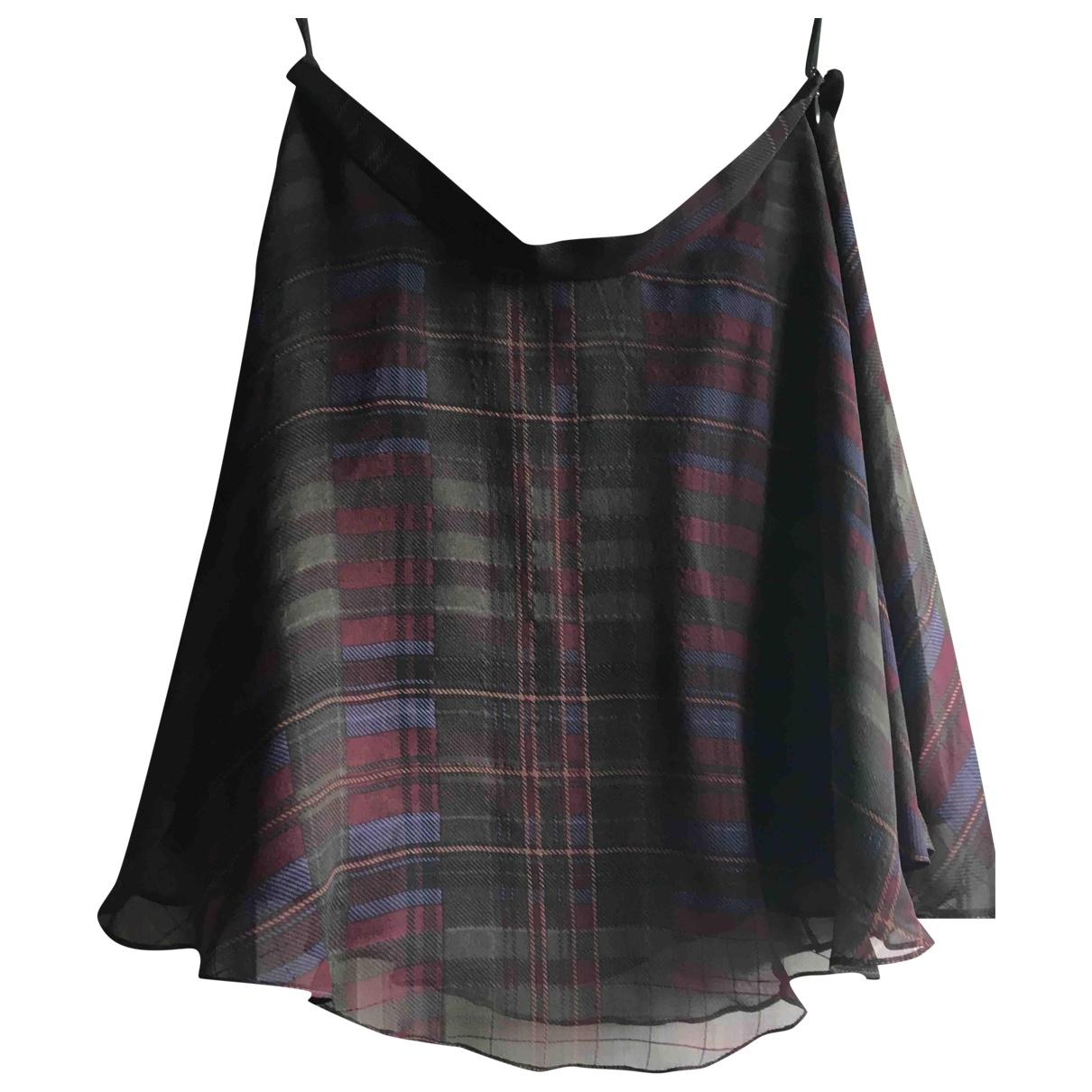 Polo Ralph Lauren - Jupe   pour femme en soie - multicolore