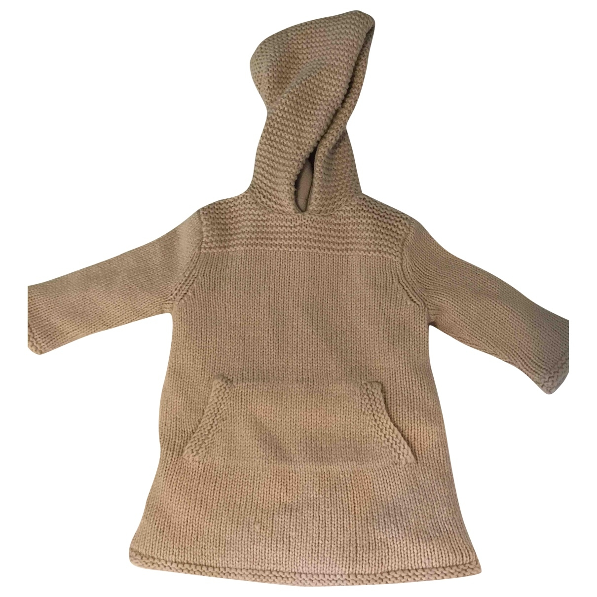 Bonpoint \N Jacke, Maentel in  Beige Wolle