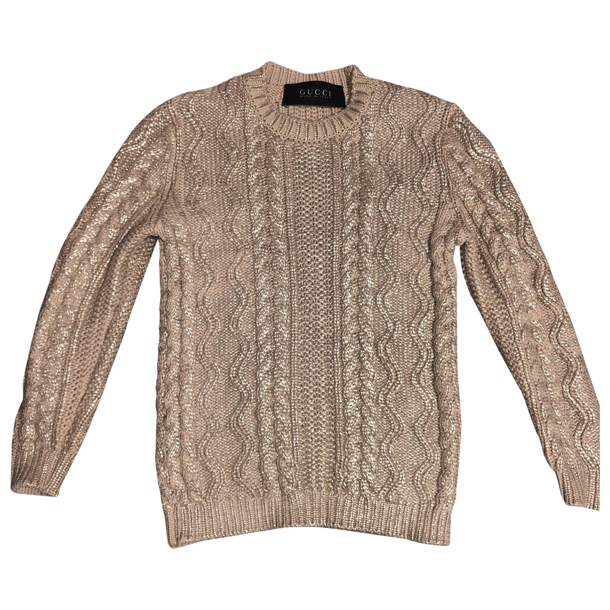 Gucci \N Beige Cotton Knitwear for Women XS International
