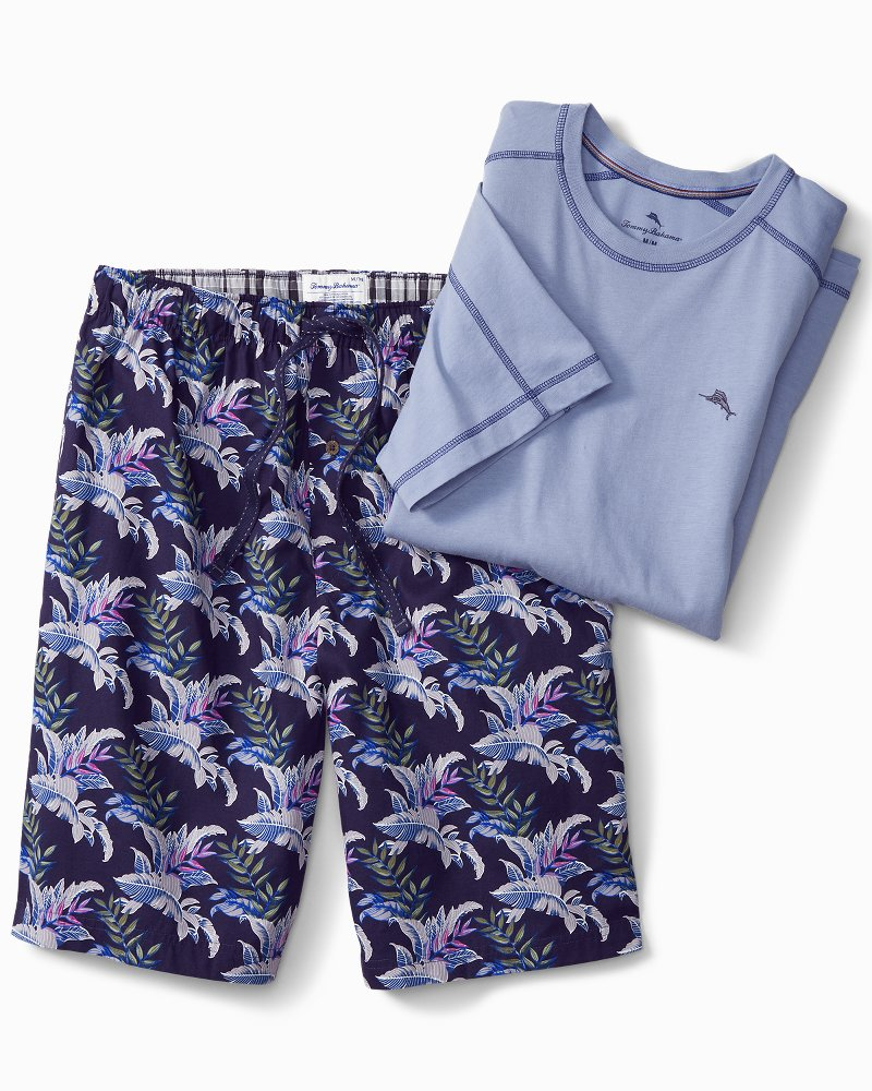 Rainforest Woven Lounge Shorts Set