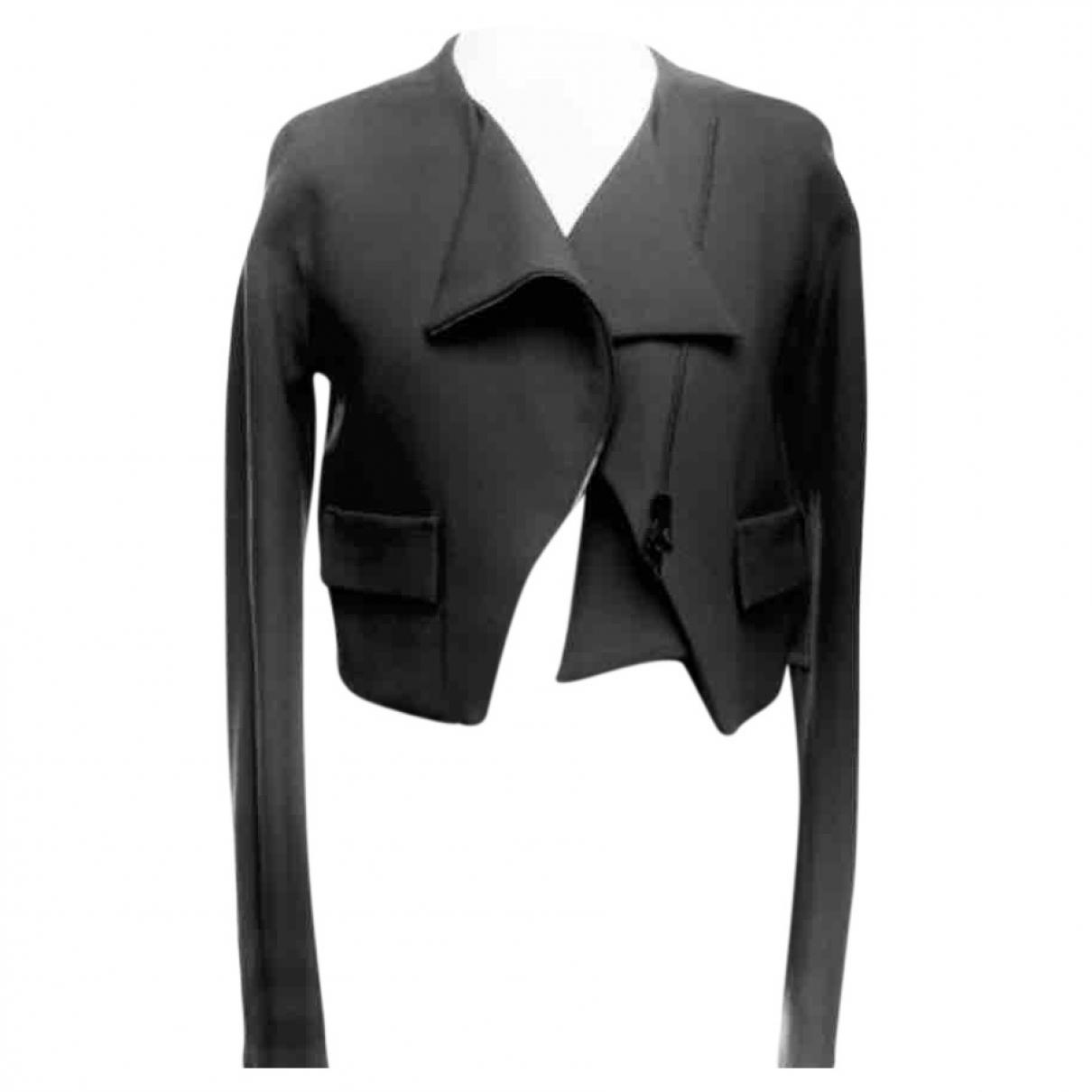 Roland Mouret \N Black Wool jacket for Women 36 FR