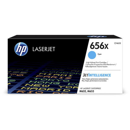 HP 656X CF461X Original Cyan Toner Cartridge High Yield
