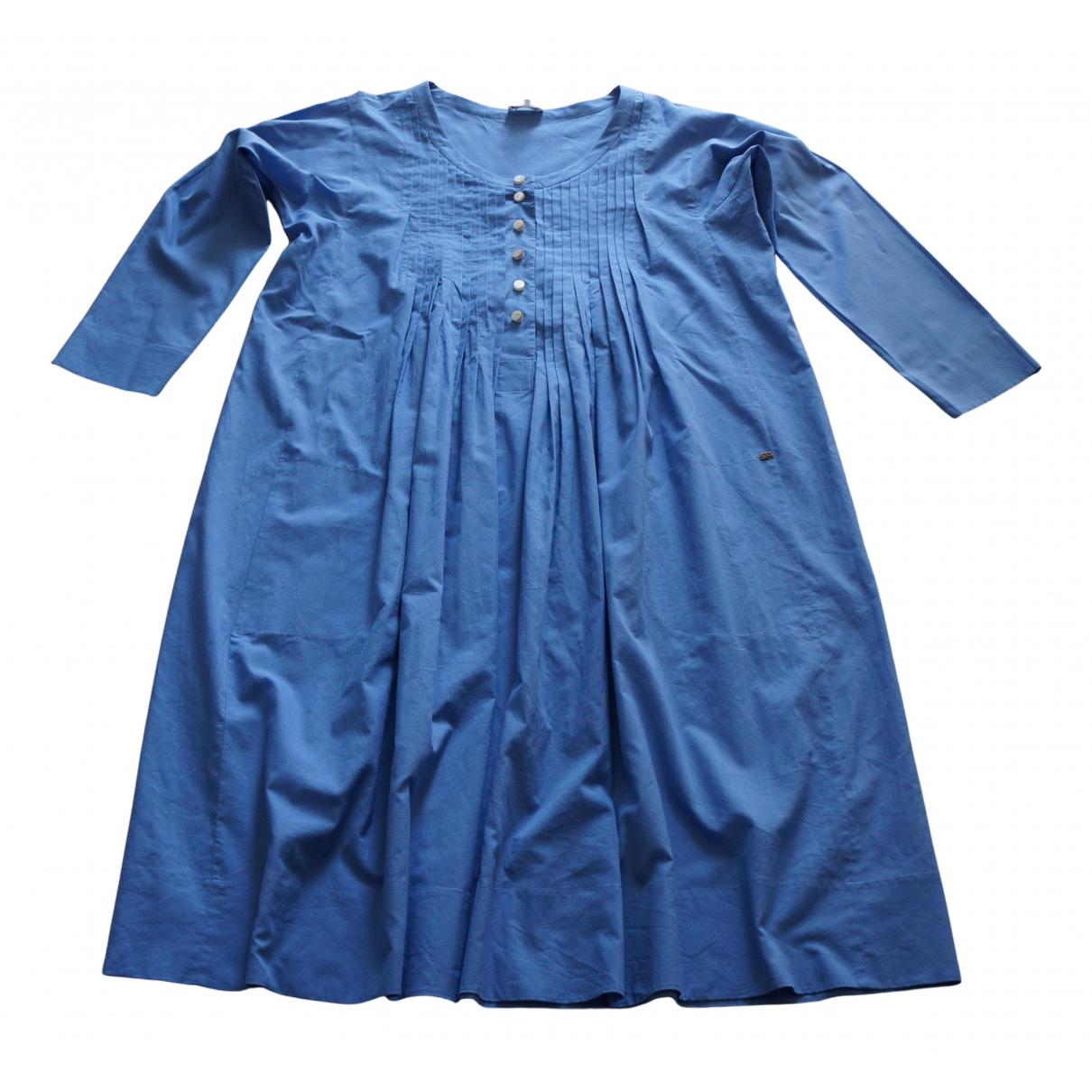 Sonia Rykiel - Robe   pour femme en coton - bleu