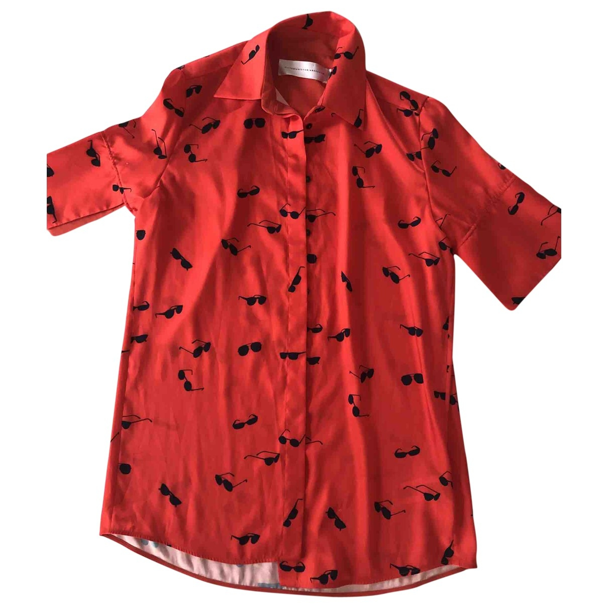 Victoria, Victoria Beckham \N Top in  Rot Polyester