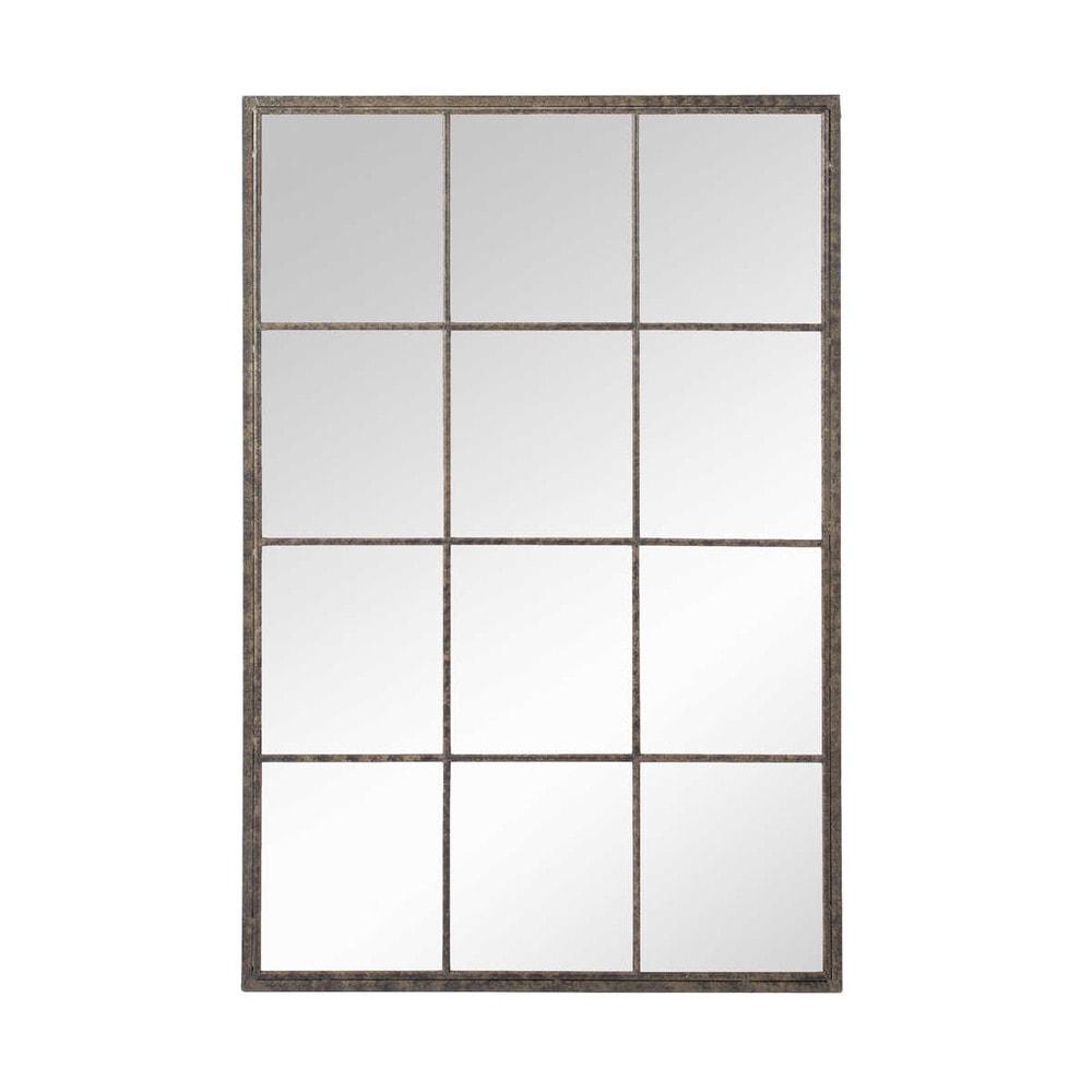 Metallspiegel im Industrial-Stil, 80x120