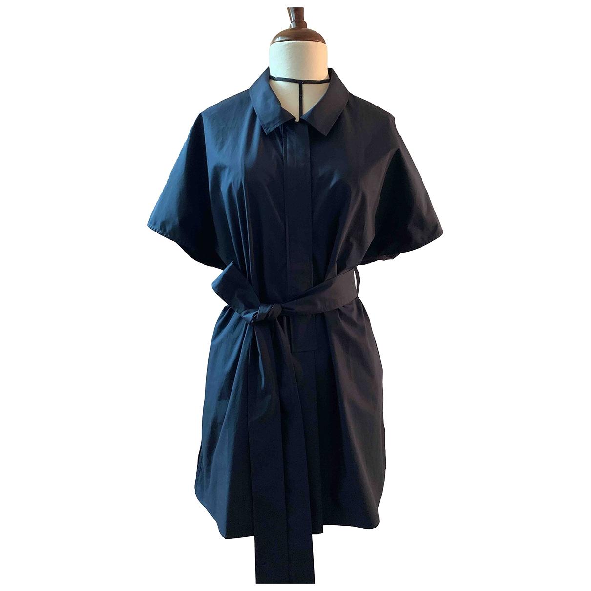 Cos - Robe   pour femme en coton - bleu