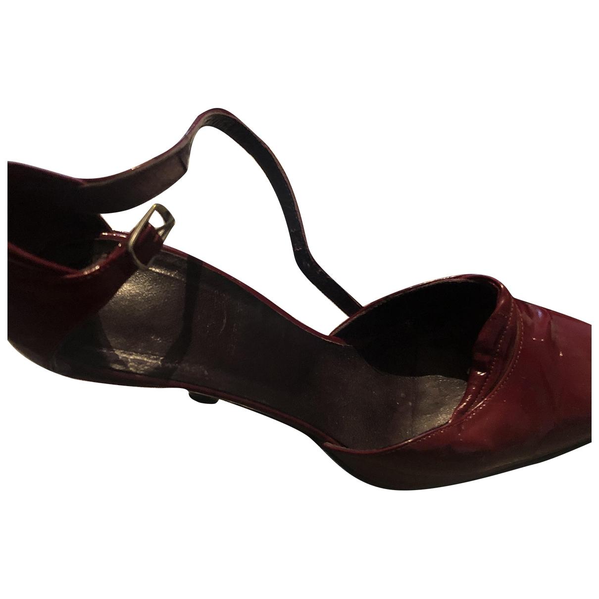 Free Lance - Escarpins   pour femme en cuir verni - rouge