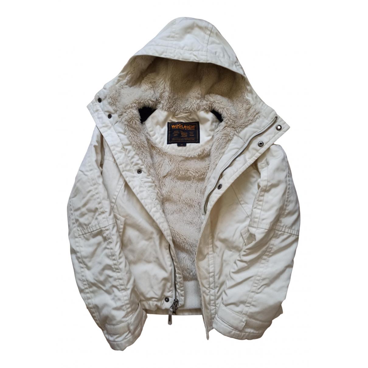 Woolrich N White Wool coat for Women XS International