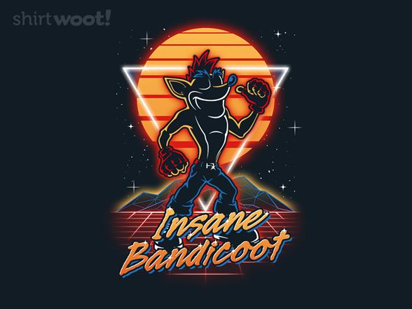 Retro Bandicoot T Shirt