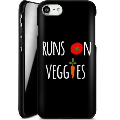 Apple iPhone 8 Smartphone Huelle - Runs on Veggies von caseable Designs