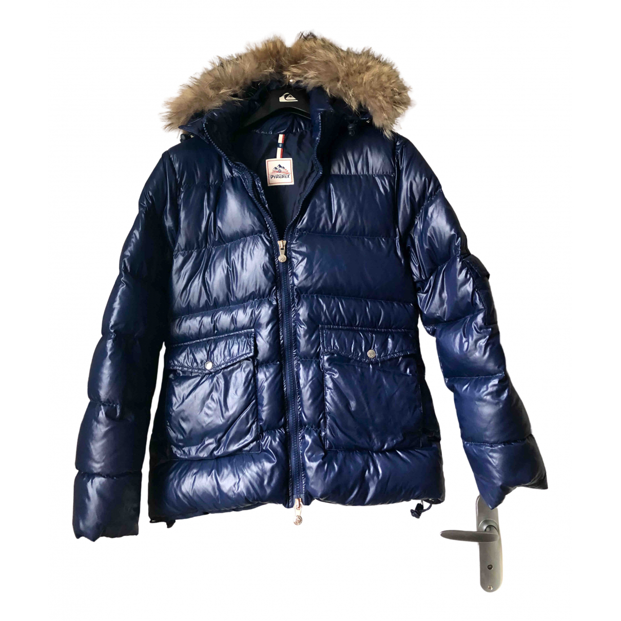 Pyrenex - Manteau   pour femme - bleu