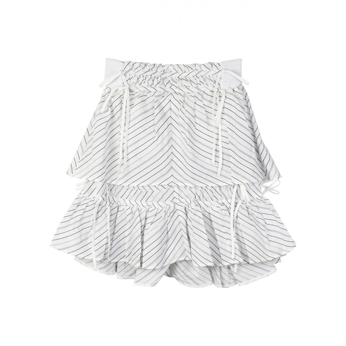 Peter Pilotto - Jupe   pour femme en coton - blanc