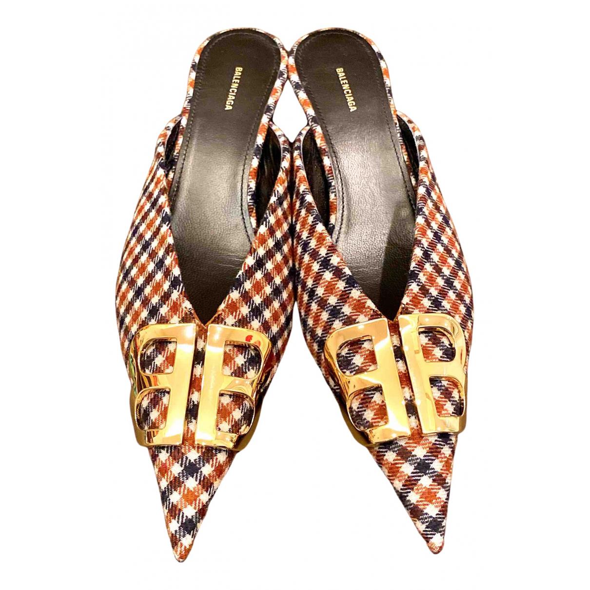 Balenciaga - Sandales   pour femme en toile - multicolore