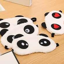 1 pieza mascara de ojo con diseño de panda