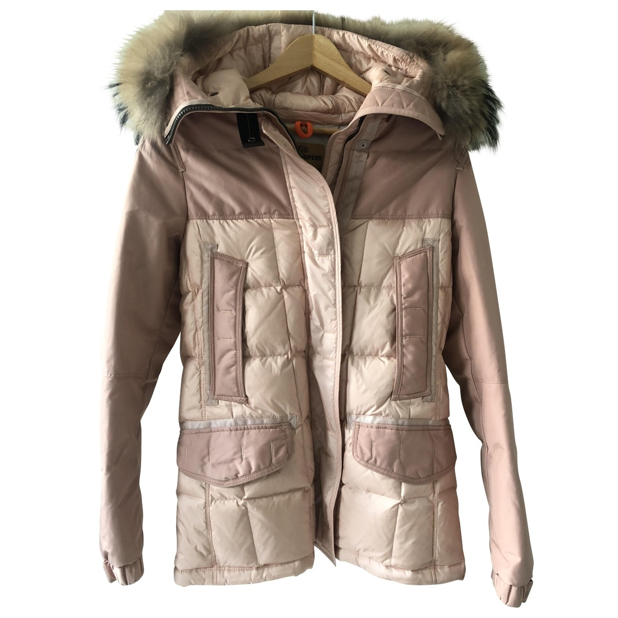 Parajumpers \N Maentel in  Beige Polyester