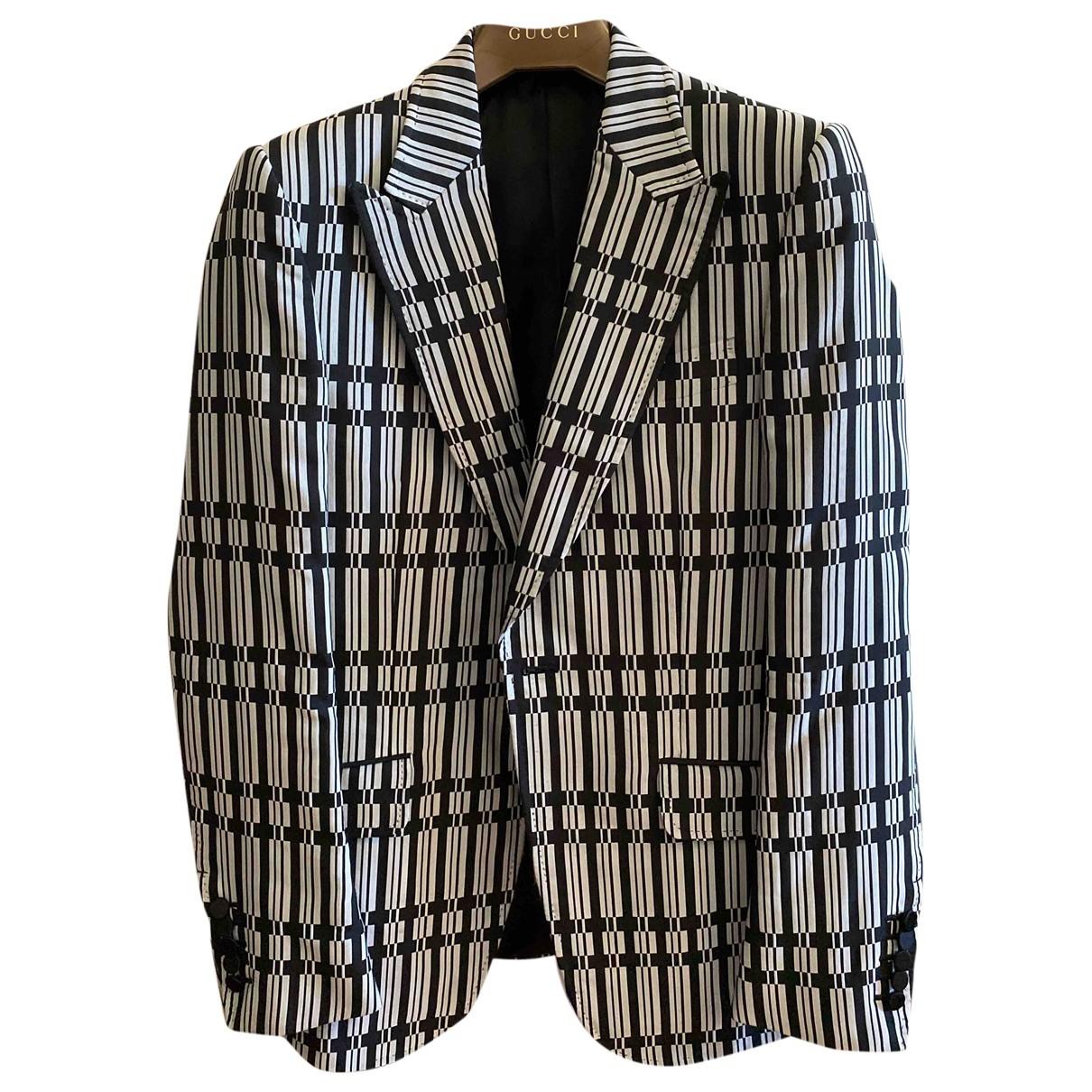 Gucci \N Black Silk jacket  for Men 46 IT