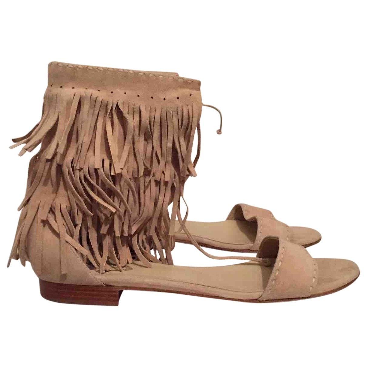 Paul & Joe \N Camel Suede Sandals for Women 39 EU