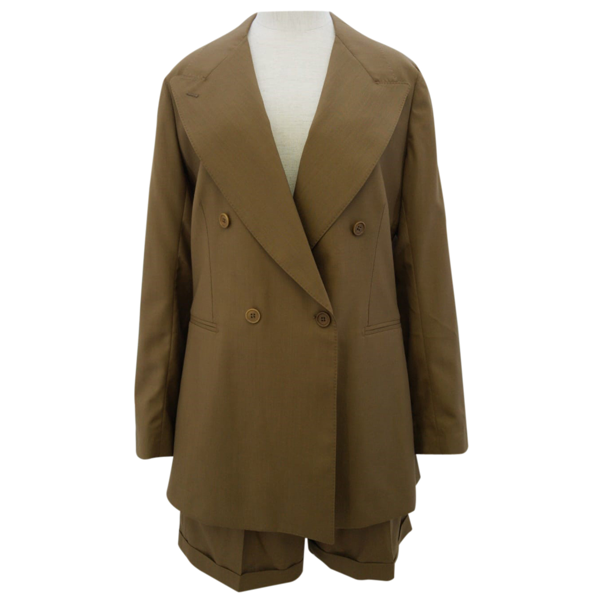 Giuliva Heritage Collection \N Brown Wool jacket for Women 44 IT