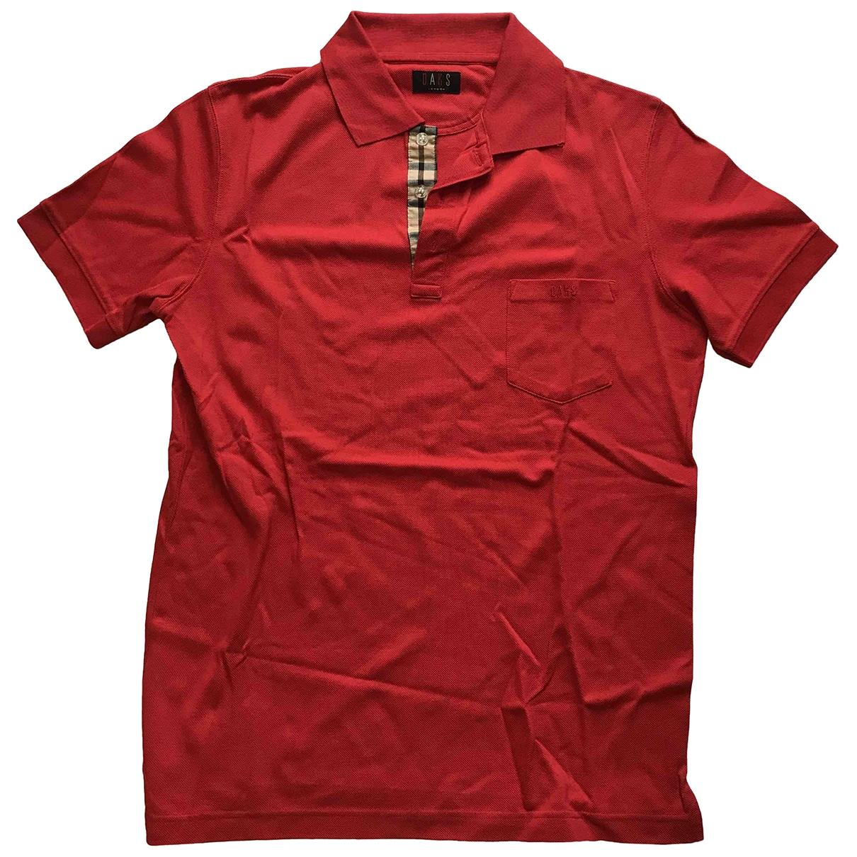 Daks - Polos   pour homme en coton - rouge