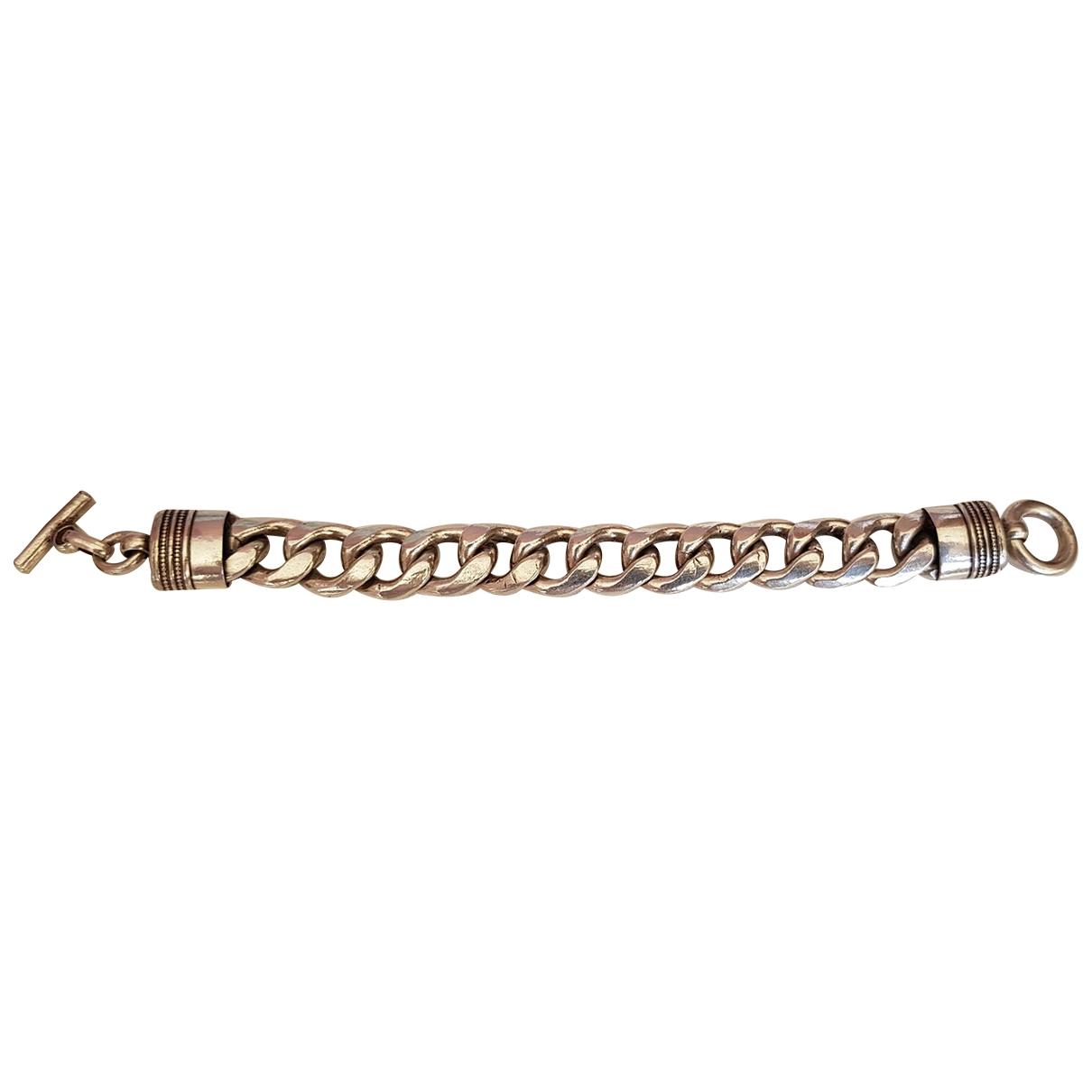 - Bracelet Gourmette pour femme en argent - argente