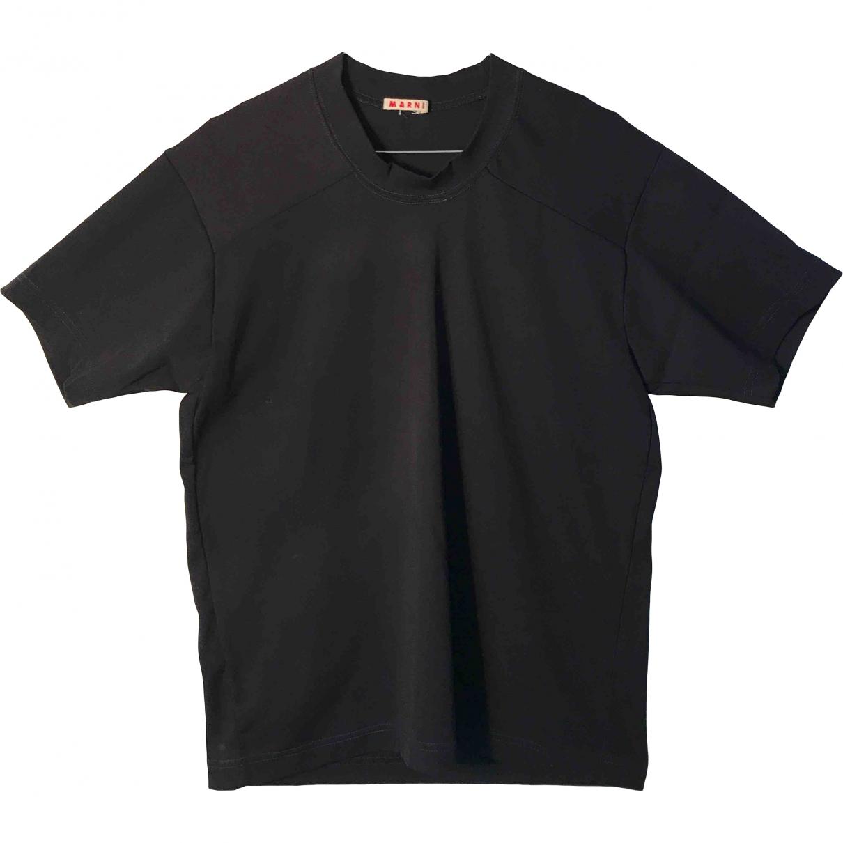 Marni - Tee shirts   pour homme - noir