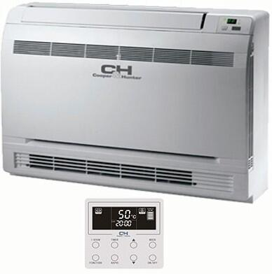 GEH12AA-D3DNA1CI Victoria Mini Split Floor Console Indoor Unit with 12000 Cooling BTU  Infrared Remote Control  Low Mount  AHRI Certified  ETL Listed