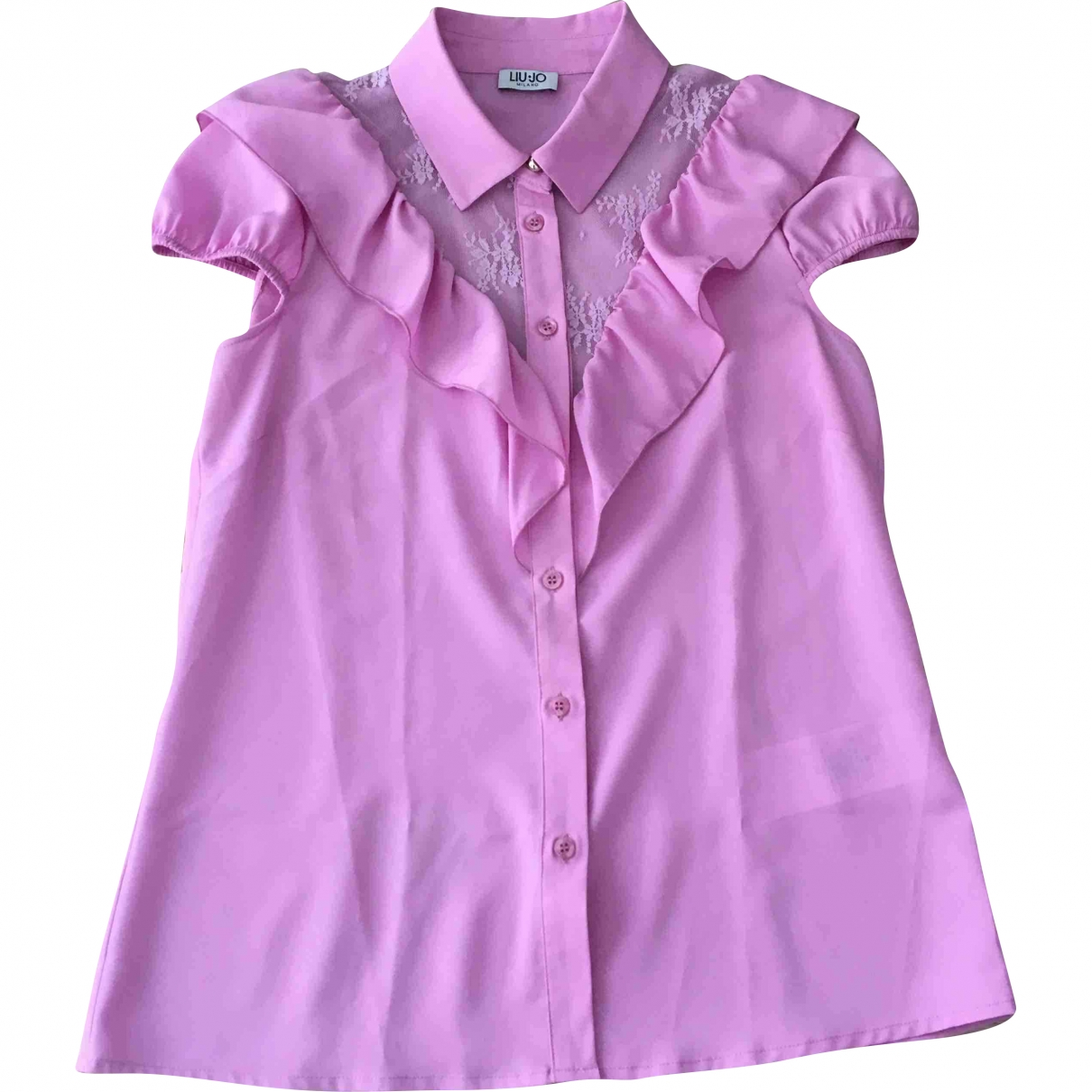 Liu.jo - Top   pour femme - rose