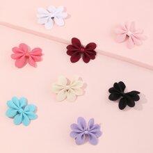 8 piezas horquilla floral de niñitas