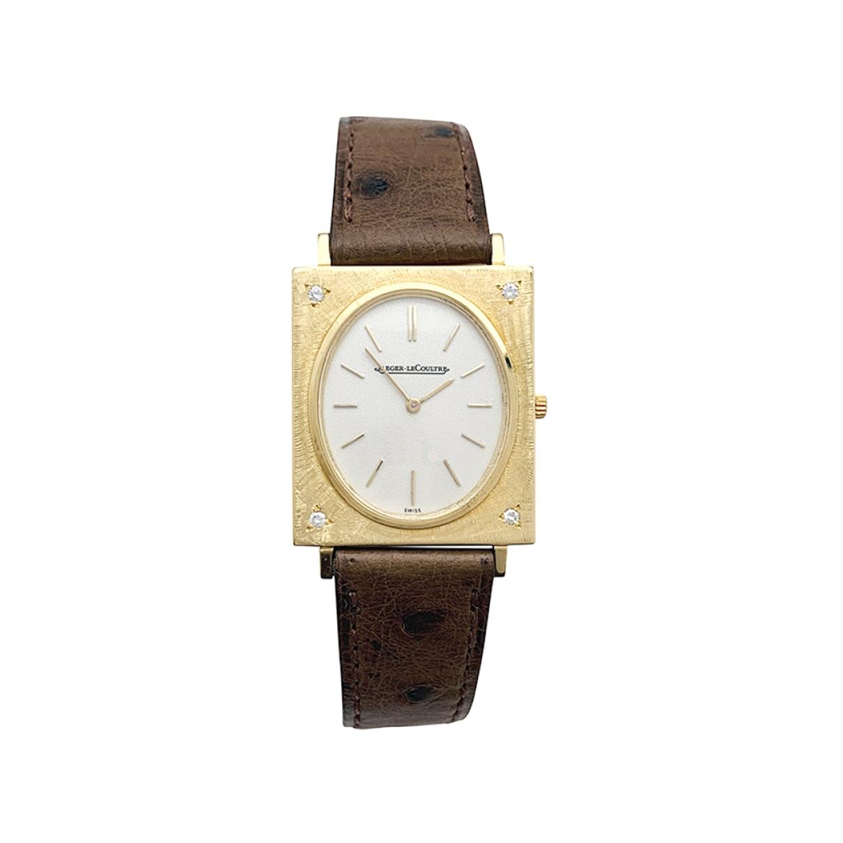 Reloj Vintage de Oro amarillo Jaeger-lecoultre