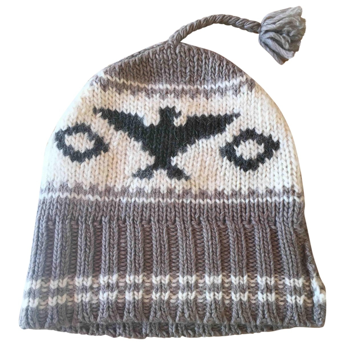 Ralph Lauren Denim & Supply - Chapeau & Bonnets   pour homme en laine - ecru