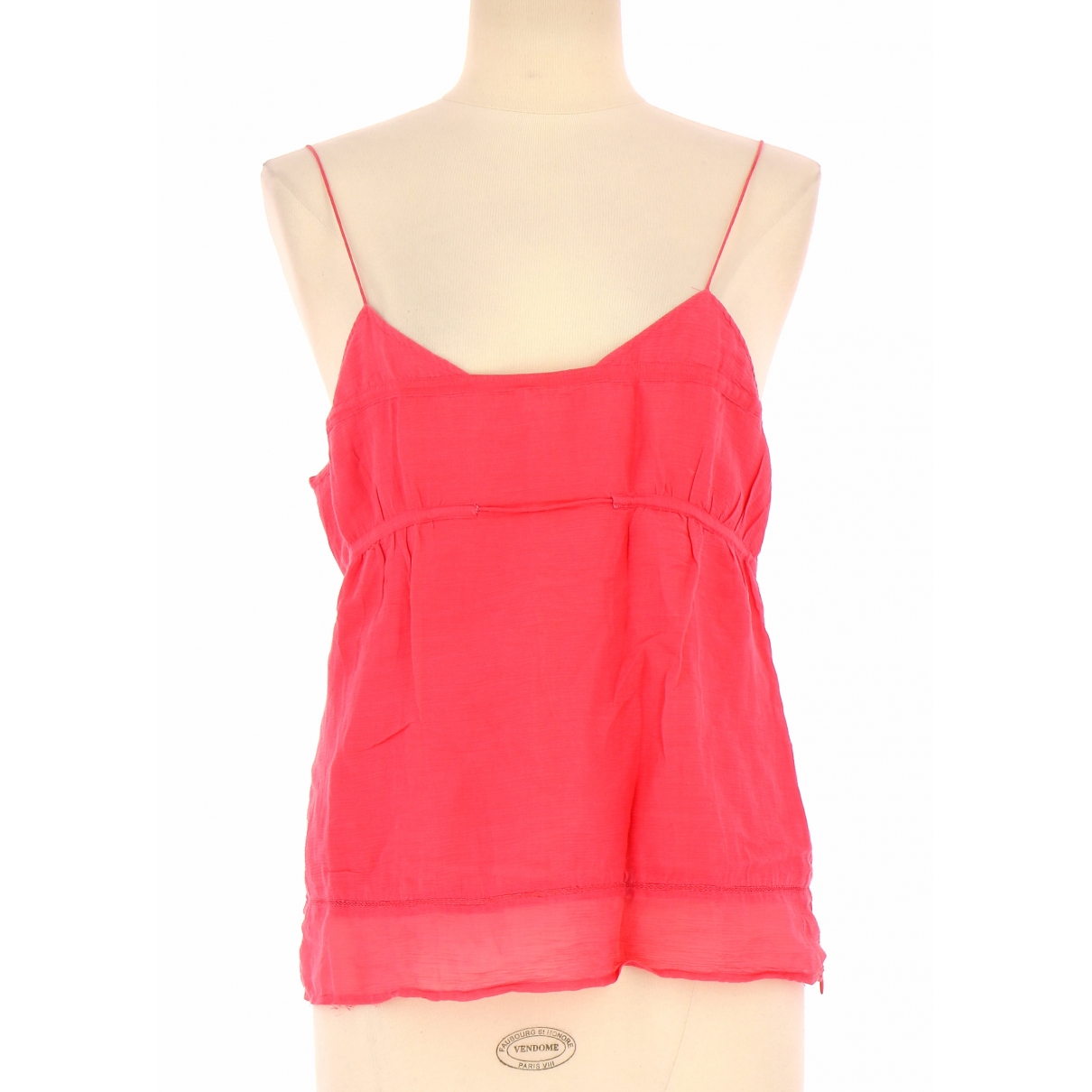 Kenzo \N Pink Cotton  top for Women 42 FR