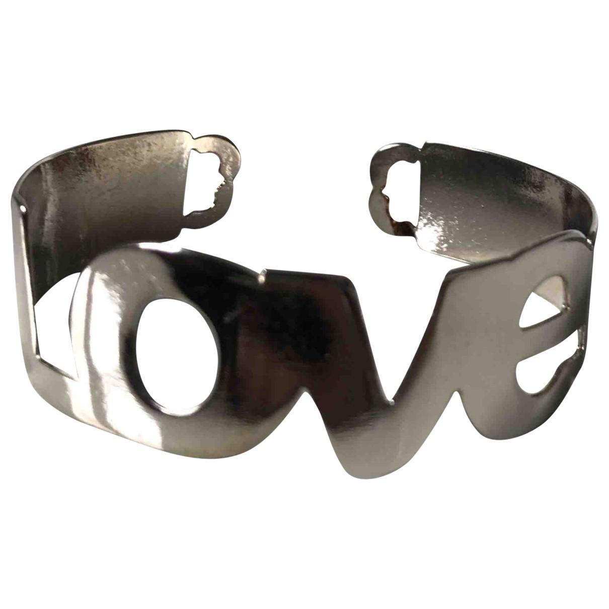 Coccinelle \N Silver Steel bracelet for Women \N