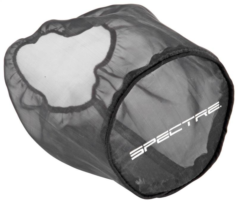 Spectre 8131DK Universal Pre-Filter Wrap 6in. x 6.125in. - Black