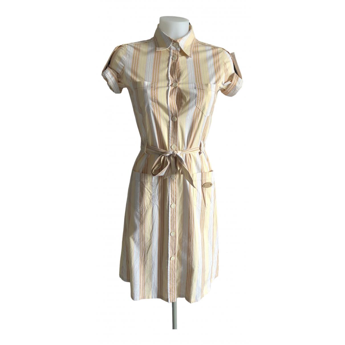 D&g \N Multicolour Cotton - elasthane dress for Women 40 IT