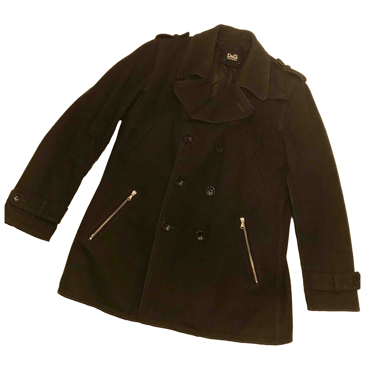 D&g \N Anthracite Wool jacket  for Men 50 IT