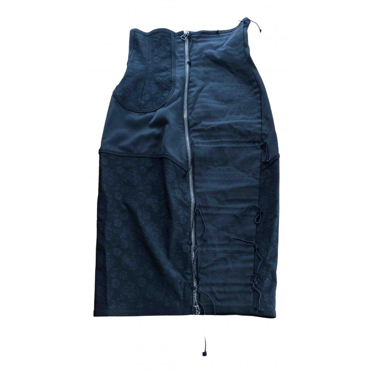 Balmain - Jupe   pour femme en laine - noir
