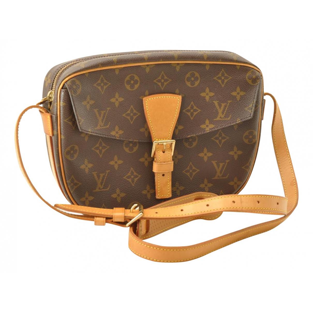 Louis Vuitton - Sac a main Jeune fille  pour femme en toile - marron