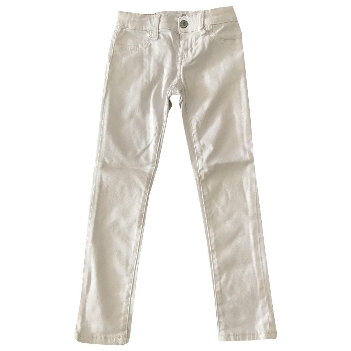 Polo Ralph Lauren \N White Cotton Trousers for Kids 5 years - up to 108cm FR