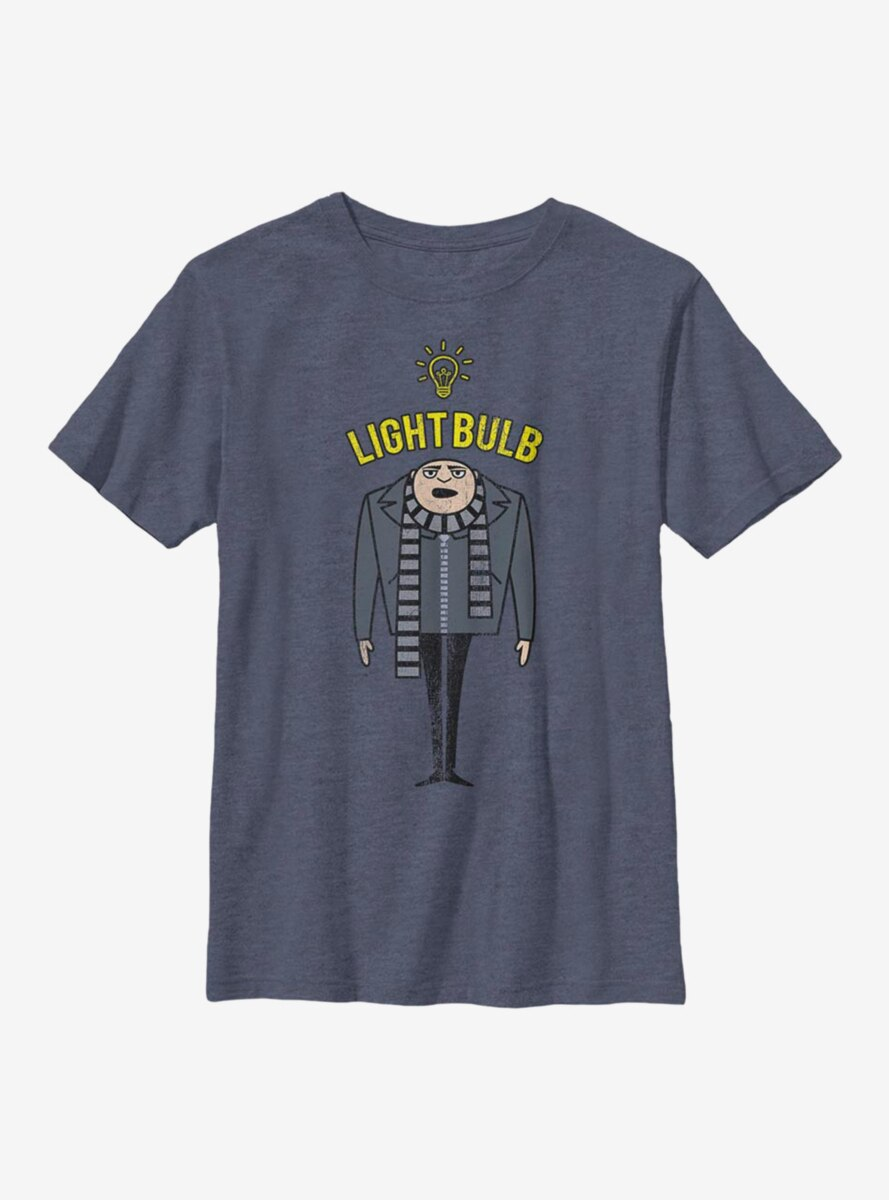 Despicable Me Minions Light Bulb Youth T-Shirt