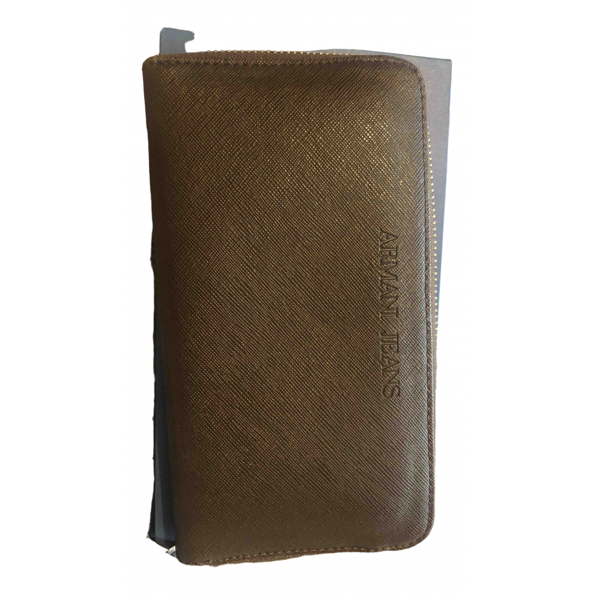 Armani Jeans \N Brown wallet for Women \N