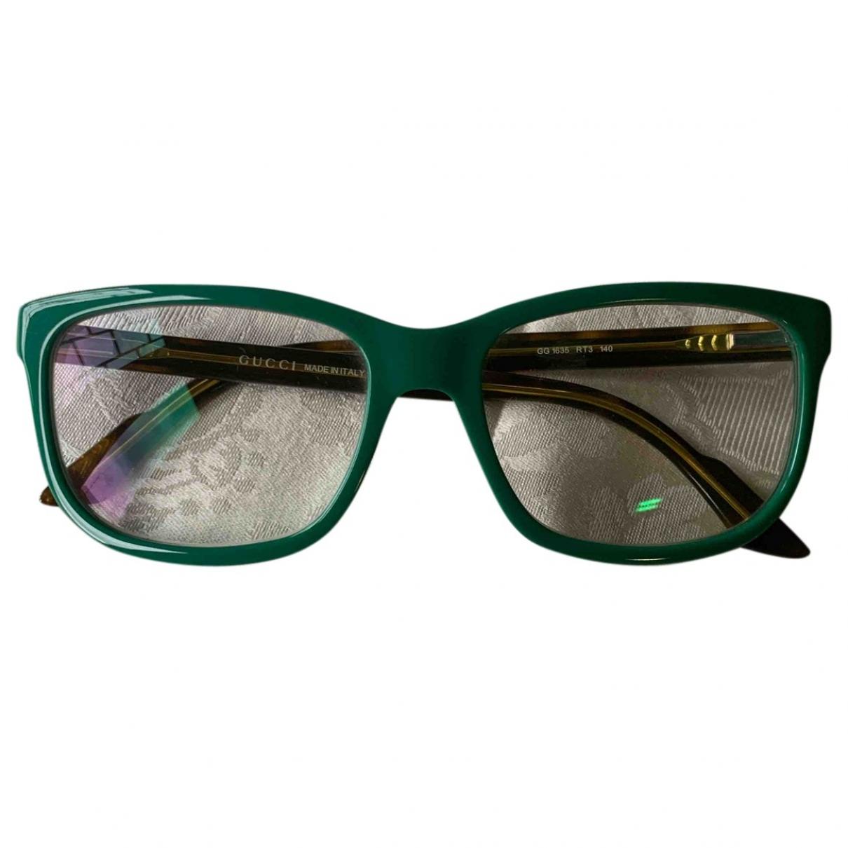 Gucci \N Green Sunglasses for Men \N