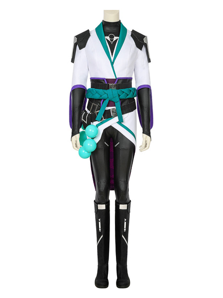 Milanoo Valorant Sage Carnival Cosplay Costume Outfit Carnival