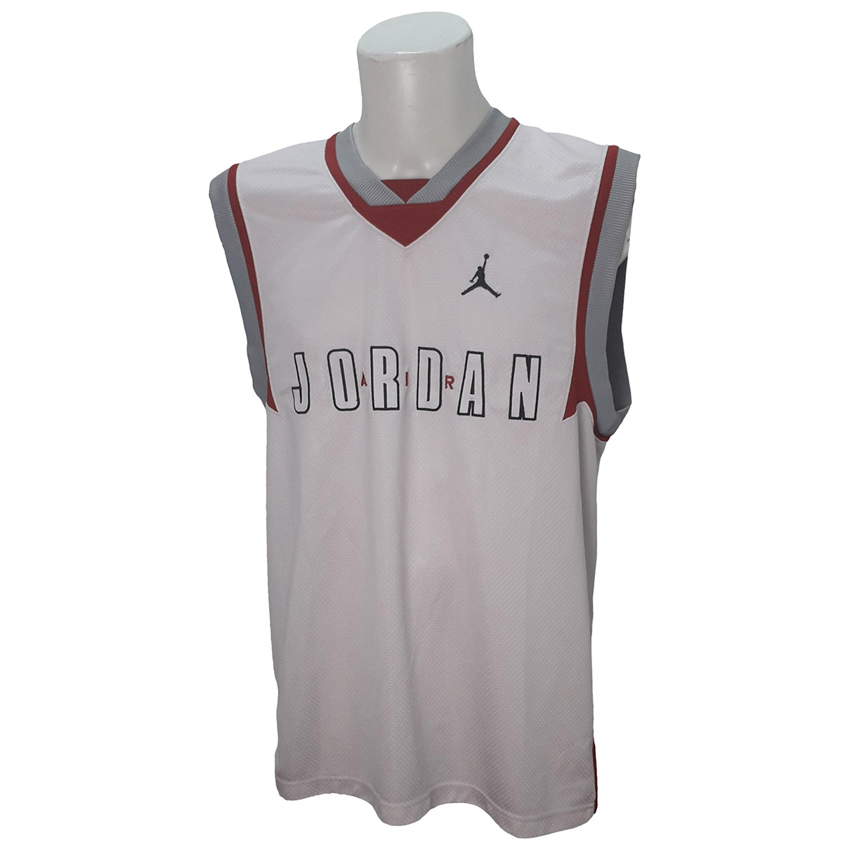 Jordan \N T-Shirts in  Weiss Polyester
