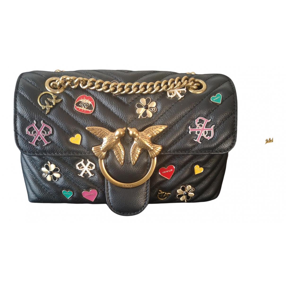 Bandolera Love Bag de Cuero Pinko